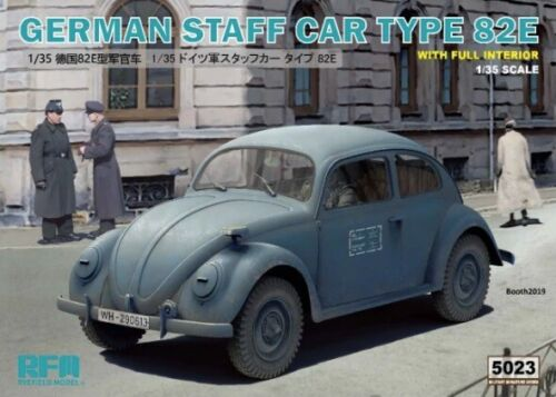Neu Rye Field Model RM-5023-1//35 WWII German Staff Car Type 82E