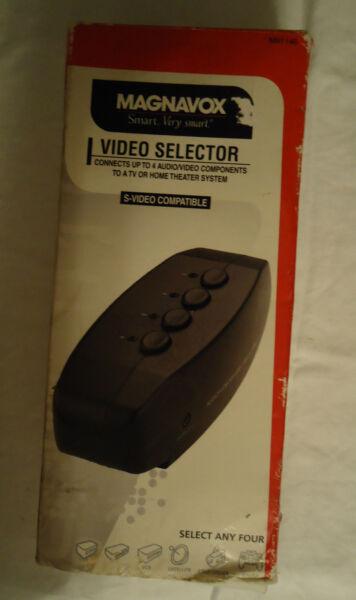 Leuk Magnavox M61146 Video Selector!! Elegante Verschijning