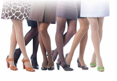 Jobst Womens UltraSheer Compression Thigh Stockings 20-30 mmhg Dot Band Supports