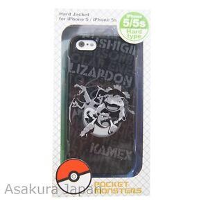c58eefff8 Pokemon iPhone 5 5s Hard Case Jacket Charizard Venusaur Blastoise ...