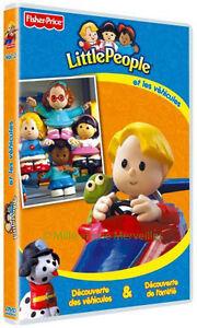 DVD-Little-People-et-Les-Vehicules-Decouverte-des-Vehicules-et-de-L-039-Amitie