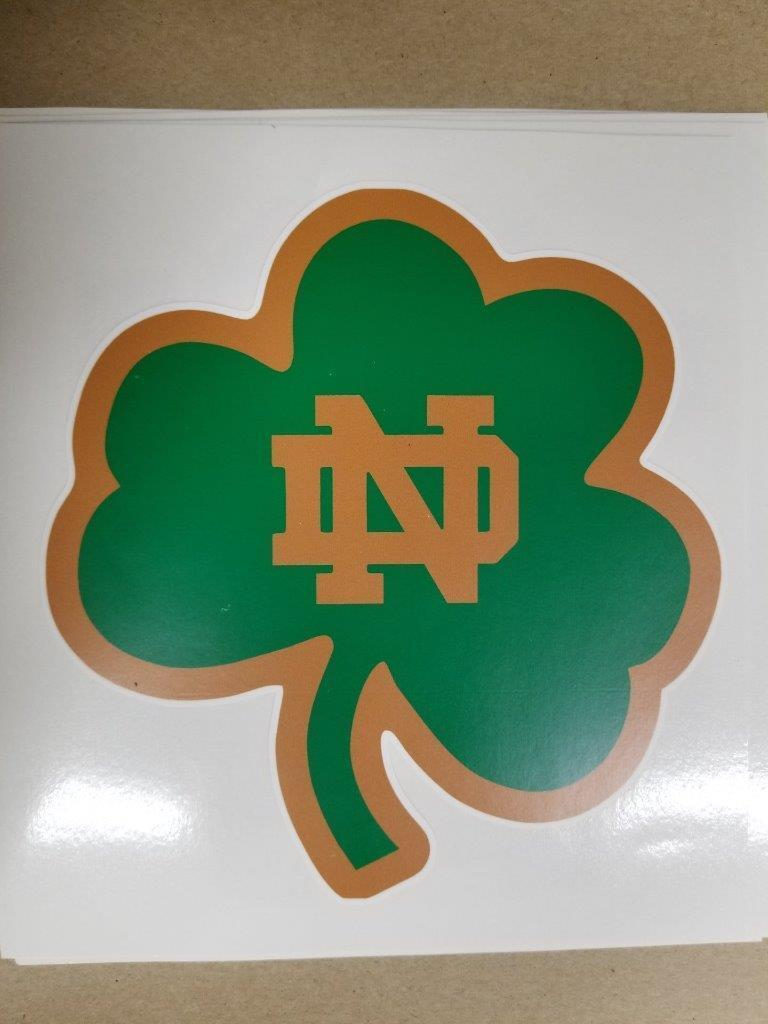 Notre Dame cornhole board or vehicle decal(s)  ND2