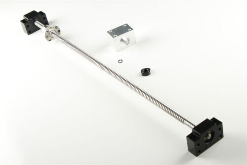 CNC Ball Screw SFU1204 End Machined w// BF//BK10 /& Ballnut Housing L=250mm-1500mm