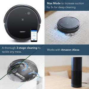 Details about ECOVACS DEEBOT 500 Robotic Vacuum Cleaner with Max Power  Suction, Up to 110