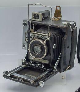 Graflex-Miniature-Speed-Graphic-2-1-4-034-x-3-1-4-034-Sheet-Film-Press-Camera-Read