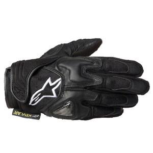 Alpinestars-Scheme-Kevlar-Short-Motorcycle-Lightweight-Gloves-Black-T