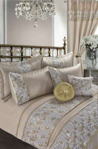 Elena Marie Embroidery Luxury Duvet Cover Set Bedding Sets //Cushions //Bed Throws
