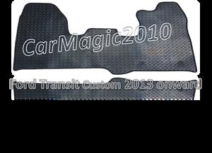 Ford Transit Custom RUBBER 2013-17 Car Mats 3148 Black 1 Piece Front