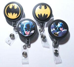 Justice League DC Heavy Duty Badge Reels Retractable ID Holder Superman etc