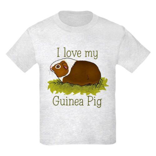 15326403 CafePress I Love My Guinea Pig Kids T Shirt Kids Light T-Shirt