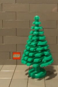 1x Plant large tree arbre grand 4x4x6 vert//green 3471 NEUF Lego