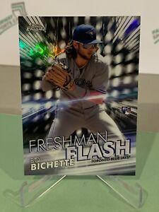 2020 Topps Chrome Bo Bichette Freshman Flash Rookie RC - Toronto Blue Jays