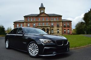 XINGFUQY Auto-Innent/ürgriffe Fit for BMW F01 F02 7-Serie vorne Links Innent/üren Panel-Lenker Pull Tr/äger Trim-Abdeckung Color : Black