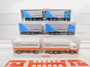 Ca245-0-5-3x-Wiking-1-87-h0-camiones-MAN-574-01-42-599-01-599-01-32-S-G-embalaje-original