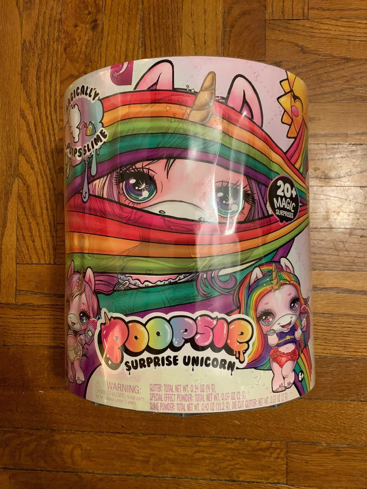 Proutie surprise Licorne 20+ Magie surprises selles Slime NEUF. SEALED