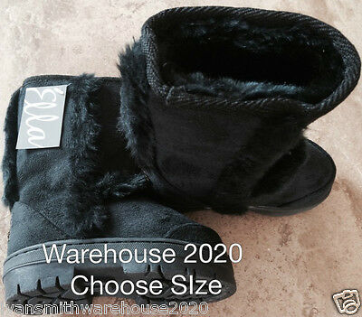 childs boots hug Black by ella childrens sizes 5/6/7/8/9// now £10.99 mandy