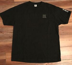 Vintage-90s-Firearm-Glock-Perfection-Promo-Shirt-XL-Single-Stitch-Black-Gray