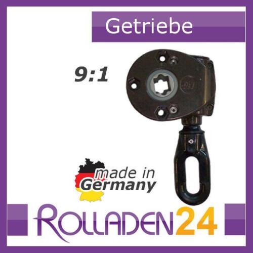 Markisengetriebe braun Schneckengetriebe 9 : 1 grau Kurbelgetriebe weiß