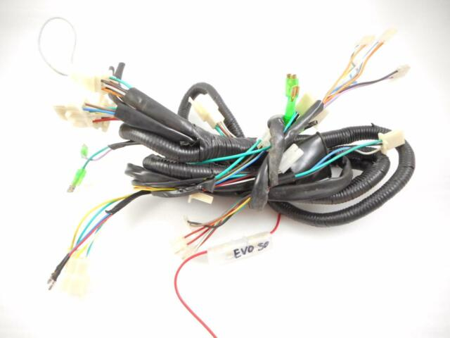 Taotao Lancer 150cc Scooter Complete Wiring Harness | eBay on factory wire harness, hand tool power supply wire harness, wiring harness, cannon plugs wire harness,