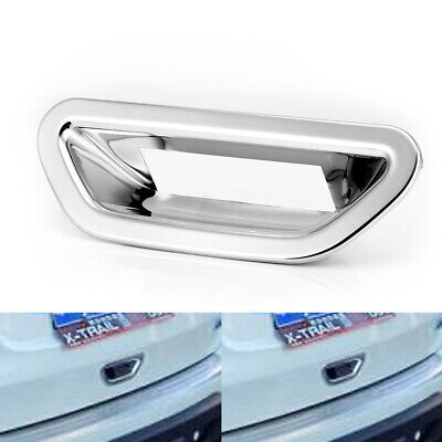 3Chrome Rear View Door Mirror Cover Trim 2pcs for Nissan Rogue X-trail 2014-2017