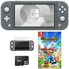 NEW Nintendo Switch Lite 🔥 Mario+Rabbids Bundle +Free Accessories PICK COLOR 🔥