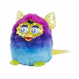 Furby Boom Crystal Series Pink blue Electronic Talking Pet Ages 6