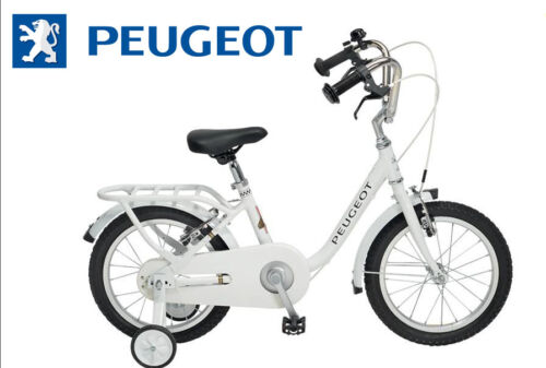 "Velo 16/"" enfant PEUGEOT Legend stabilisateur Blanc vintage NEUF bicycle bike"