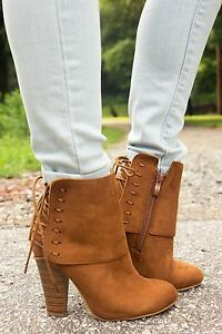 Up Cognac Booties Laced Booties Laced Cognac Up Laced Up Booties SxzwAA