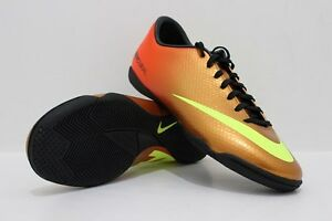 5d0d9a506a7e NIKE MERCURIAL VICTORY IV IC INDOOR SOCCER SHOES FOOTBALL SUNSET.   eBay