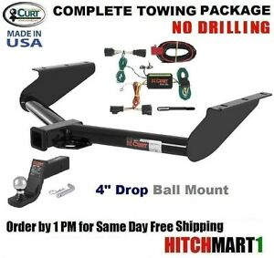 class 3 curt trailer hitch complete package for 2008 2012. Black Bedroom Furniture Sets. Home Design Ideas