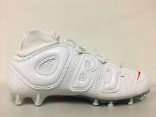 1f1e8cc6e item 1 Nike Vapor Untouchable Pro 3 OBJ Uptempo Cleats White Crimson BV7553 100  Size 14 -Nike Vapor Untouchable Pro 3 OBJ Uptempo Cleats White Crimson ...