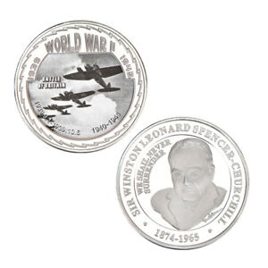 WR-Combat-Wings-Battle-of-Britain-Commemorative-Coin-World-War-II-2-Memorabilia