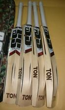 SS TON Master 9000 Player Grade English Willow Cricket Bat + Free knocking & oil