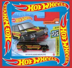 Hot-Wheels-2020-Datsun-Bluebird-Wagon-510-nuevo-color-146-250-neu-amp-ovp