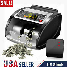 New Money Bill Cash Counter Bank Machine Currency Counting Uv Mg Counterfeitus