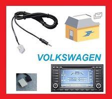Cable auxiliaire aux adaptateur mp3 pour autoradio RNS2 VW TOUAREG T5 multivan