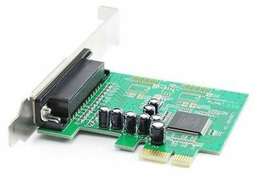 MCS9901CV Chipset AC-X104 1-Port DB25 Printer//Parallel PCI Express I//O Card