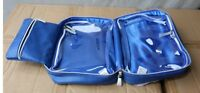 Royal Edelweiss Blue W/ Silver Handle Cosmetic Bag Lowest Price On Ebay