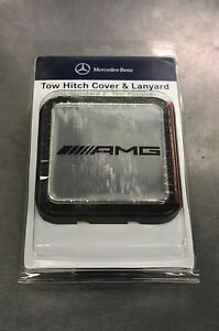 Oem genuine mercedes benz decorative amg marque hitch for Mercedes benz car cover oem