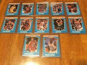 SET STICKER  STYLE 1989-1990 Fleer Basketball   Michael Jordan