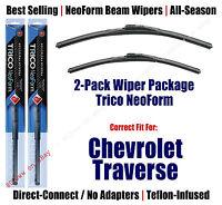 2pk Super-premium Neoform Wipers Fit 2012+ Chevrolet Traverse - 162413/2113