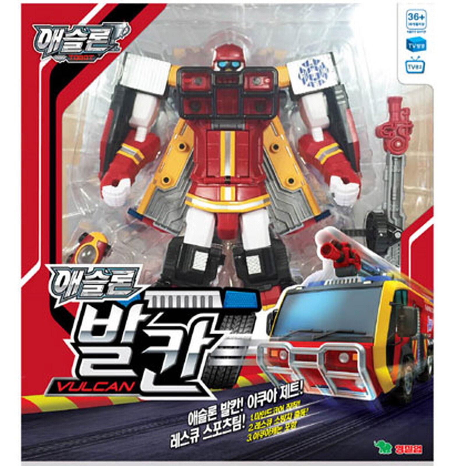 Neue tobot athlon vulkan transformator roboter retten - sport - team korea animation.