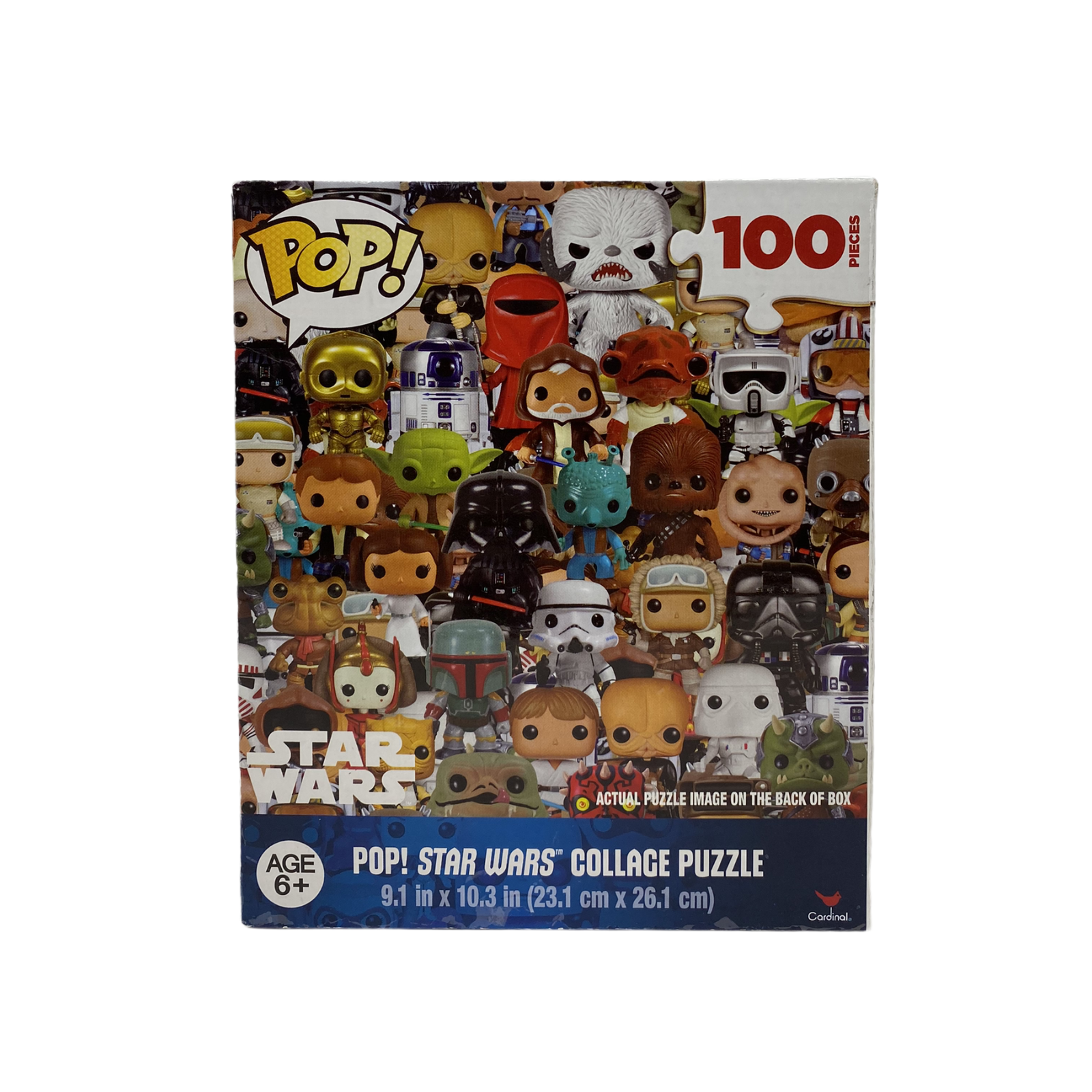 Pop Marvel Heroes Collage Puzzle 100 Pcs Funko Mini Age 6 Cardinal Games For Sale Online Ebay
