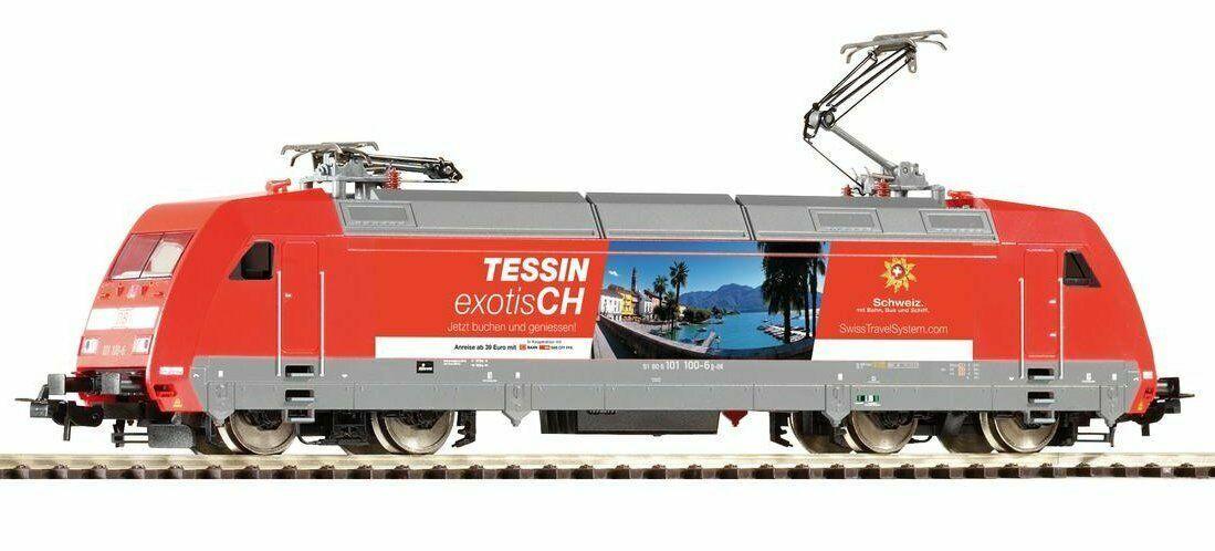 H0 59453 Piko e-Lok br 101 DB AG  Tessin  mercancía nueva DSS