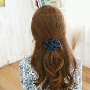 Handmade-Flower-Rhinestone-Hair-Pins-Hair-Accessories-Hair-Clip-Barrette