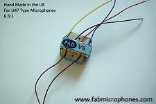FAB V8 mozzafiato Neumann Trasformatore BV8 per U47 microfono, Mods, cloni ecc.