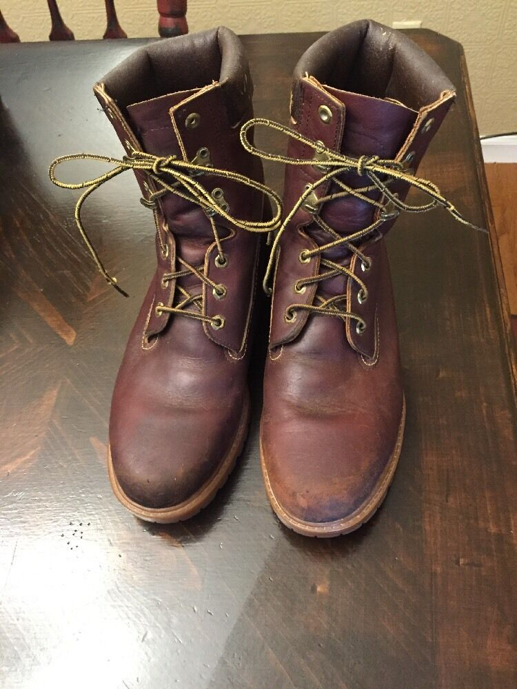 Mens HURMAN SURVIVORS VINTAGE Brown Insulate Leather Work Boots. Size 11.5 N