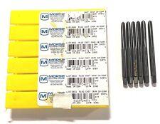 Morse 3//8-24NF Hand Tap HSS Plug GH3 4 Flute Black Oxide USA Made 6 Pack