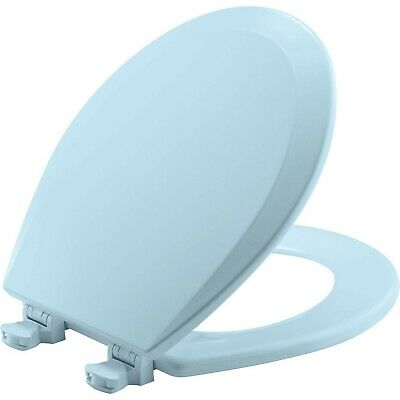 ROUND BEMIS 500EC 464 Toilet Seat with Easy Clean /& Change Hinges Durable E...