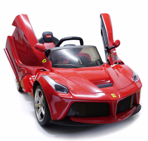 image is loading 12v ferrari laferrari battery kid ride on car
